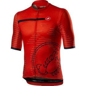 Castelli Scorpione Jersey Men, czerwony